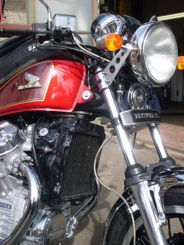 Stahlflex für CX-500 C Sdc12612