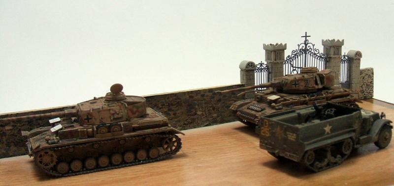 Le mur des Panzer: Déterrage pour un diaporama. 4810