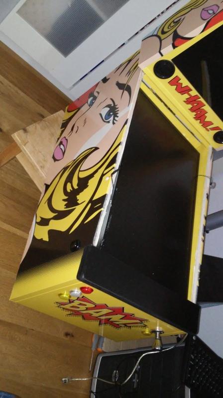 [WIP] Mini Pincab - version Lichtenstein - Page 2 2017-011