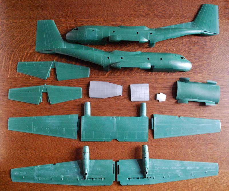 1/72 Heller Transall C-160G Gabriel Transa11