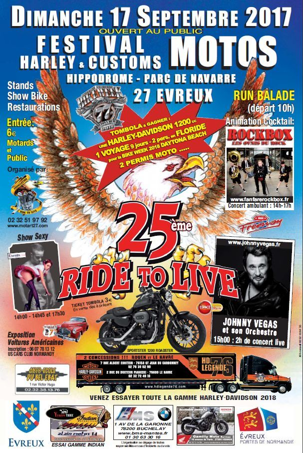 25è festival Harley & Customs - 17 sept.2017 Evreux (27) Nouvel52