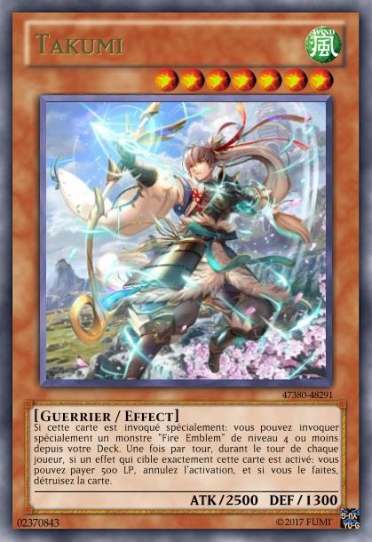 Crossover Yu-Gi-Oh/Fire Emblem Takumi13