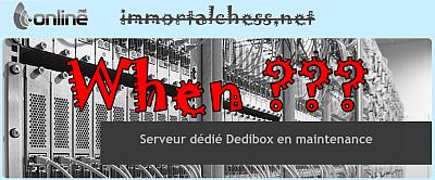 Immortalchess has been shut? Dedibo11