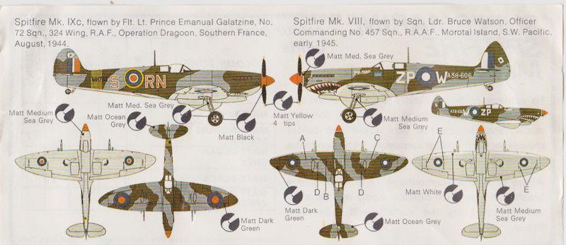 [Frog] Spitfire Mk VIII 7_spit10