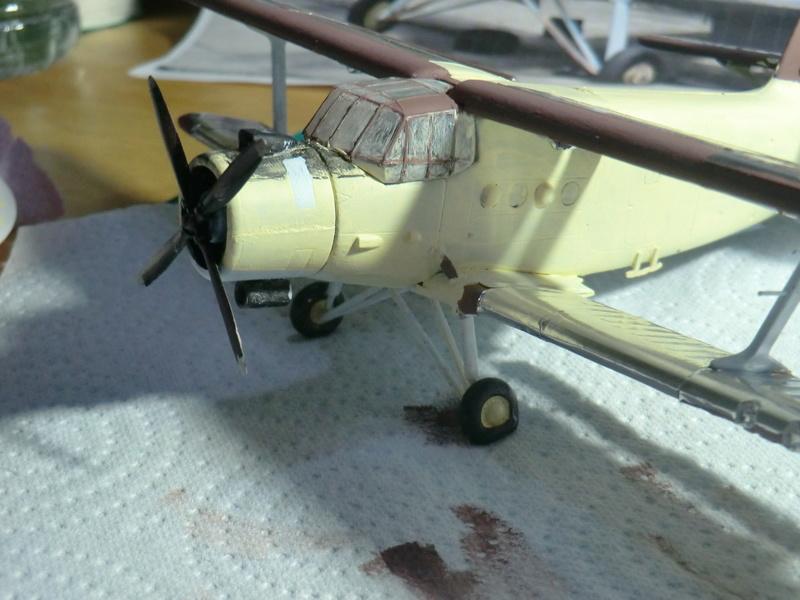 épaves d'Aéronef en chine 1/72 An2_1165