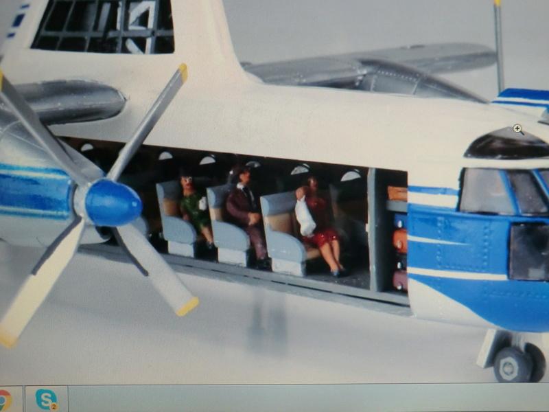 montage d'un Fairey rotodyne 1/78 Revell An2_1351