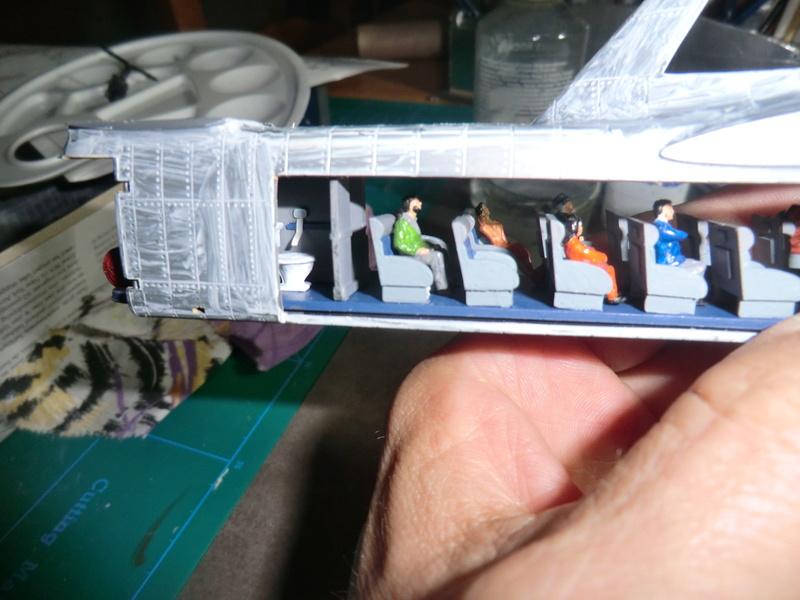 montage d'un Fairey rotodyne 1/78 Revell F-roto79