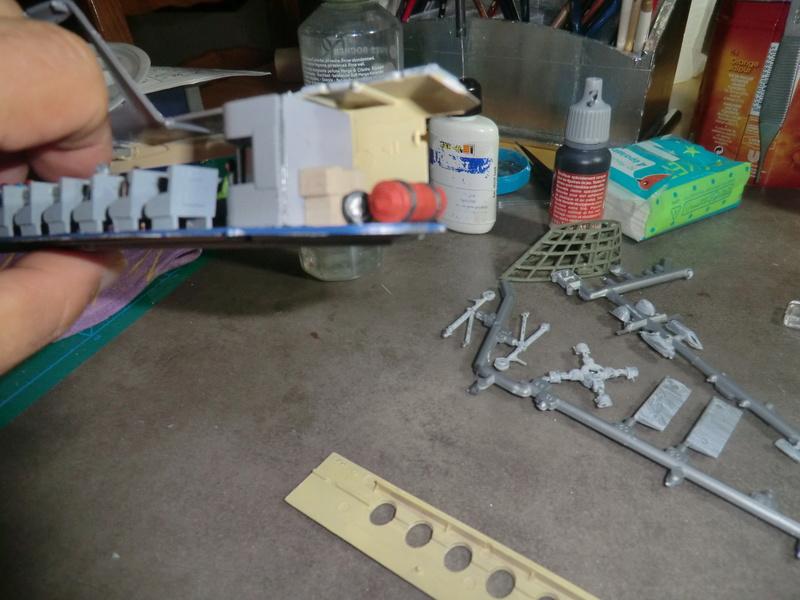 montage d'un Fairey rotodyne 1/78 Revell F-roto80