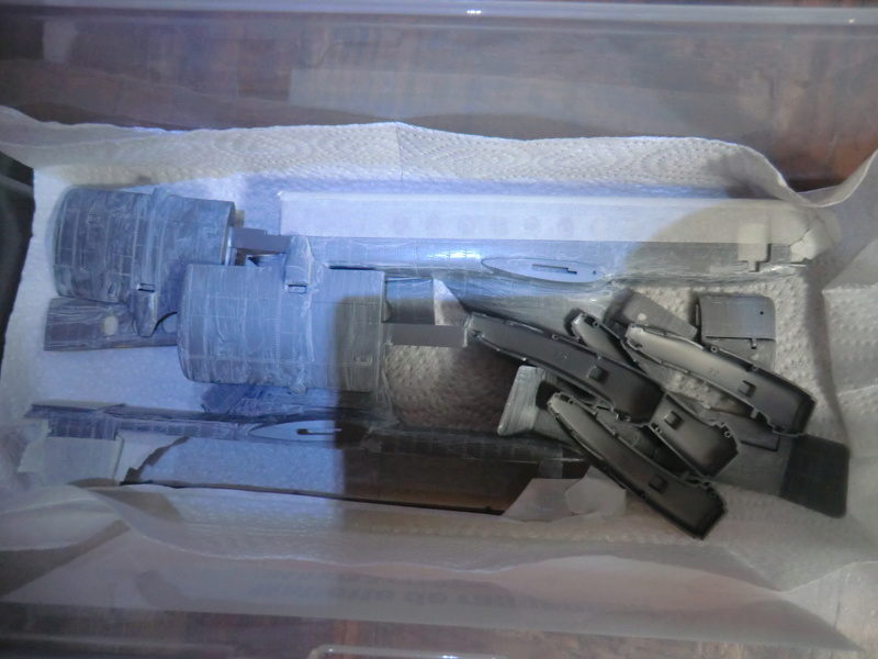 montage d'un Fairey rotodyne 1/78 Revell F-roto93