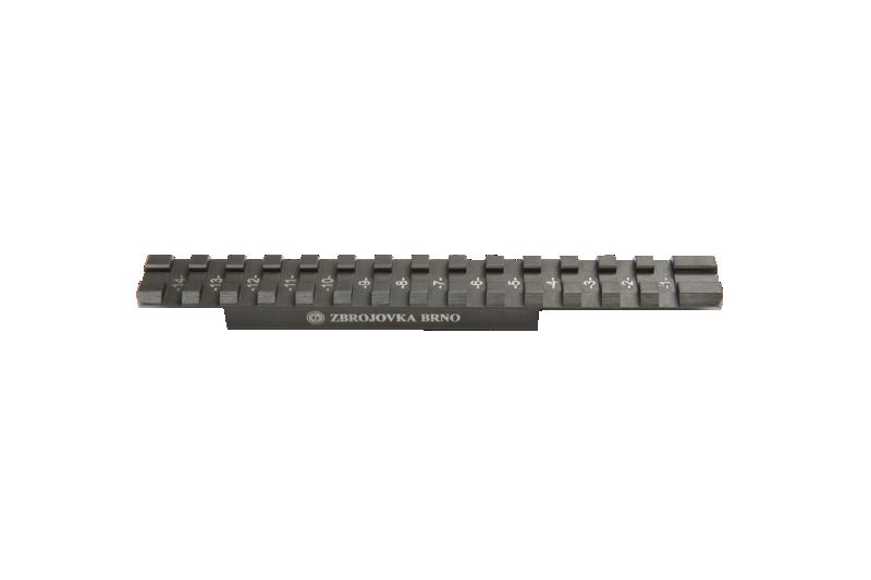 Montage de point rouge sur express Gaucher avec rail de 14,5 mm 1070-910