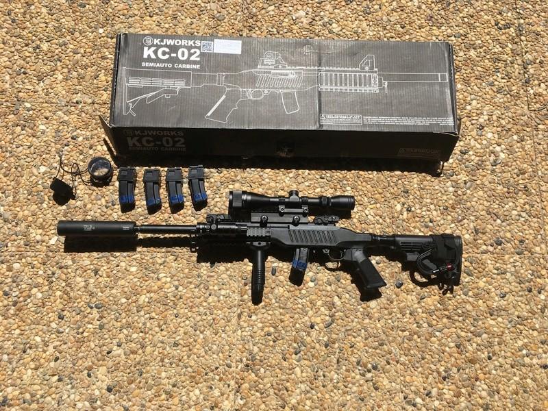 Vente KJW KC-02, Glocks, accessoires divers. Img_4415