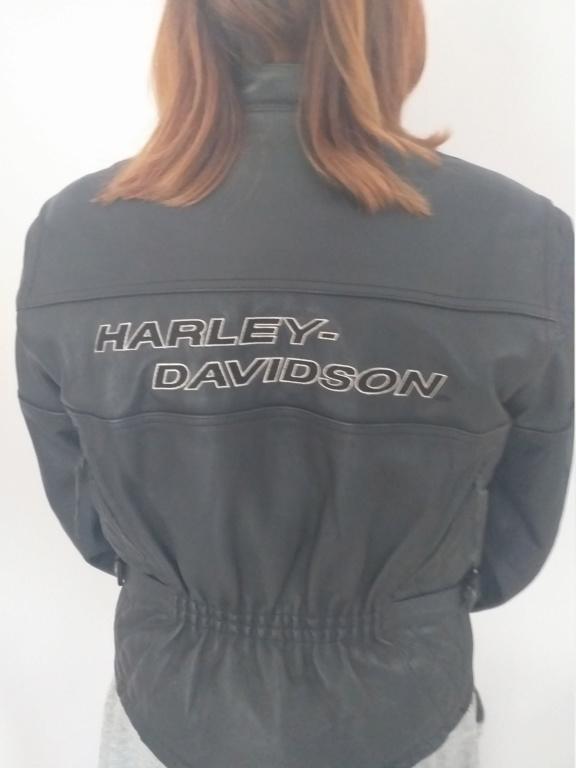 Vends blouson cuir femme Harley Davidson 20200714