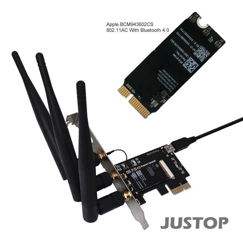 Vendu - Vend carte Wifi + BT BCM943602CS 61hwpq10