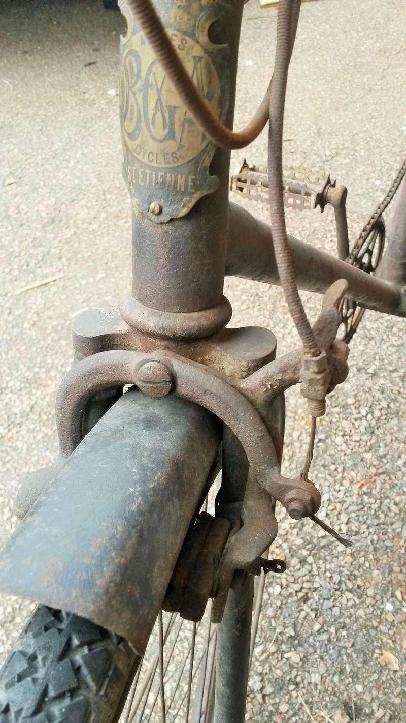 vélo homme de ville BGA St Etienne avant 1924  02118