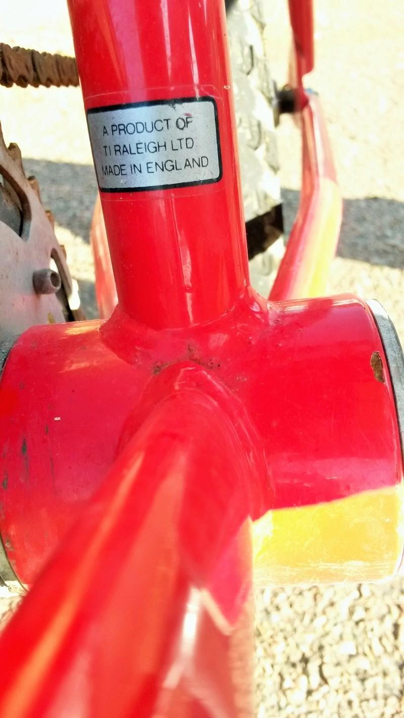 BMX Raleigh BURNER 1986-88 04512