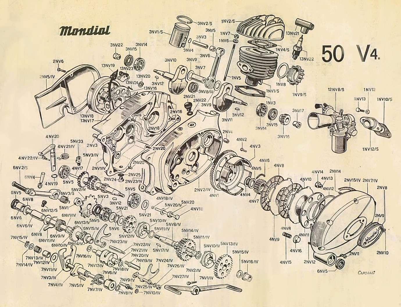 Documents sur Mondial 50cc Franco Morini. 2017-109