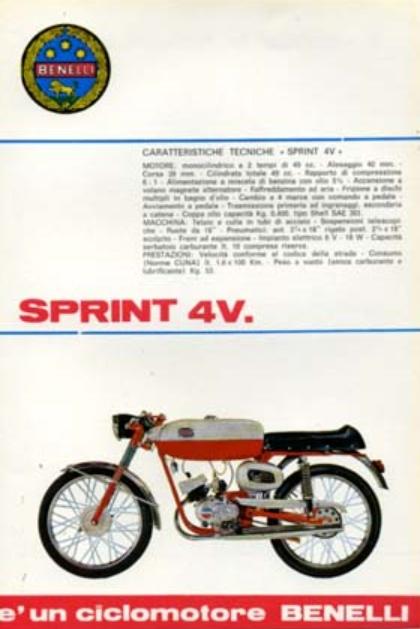 Motobi Sprint 4V Benell13