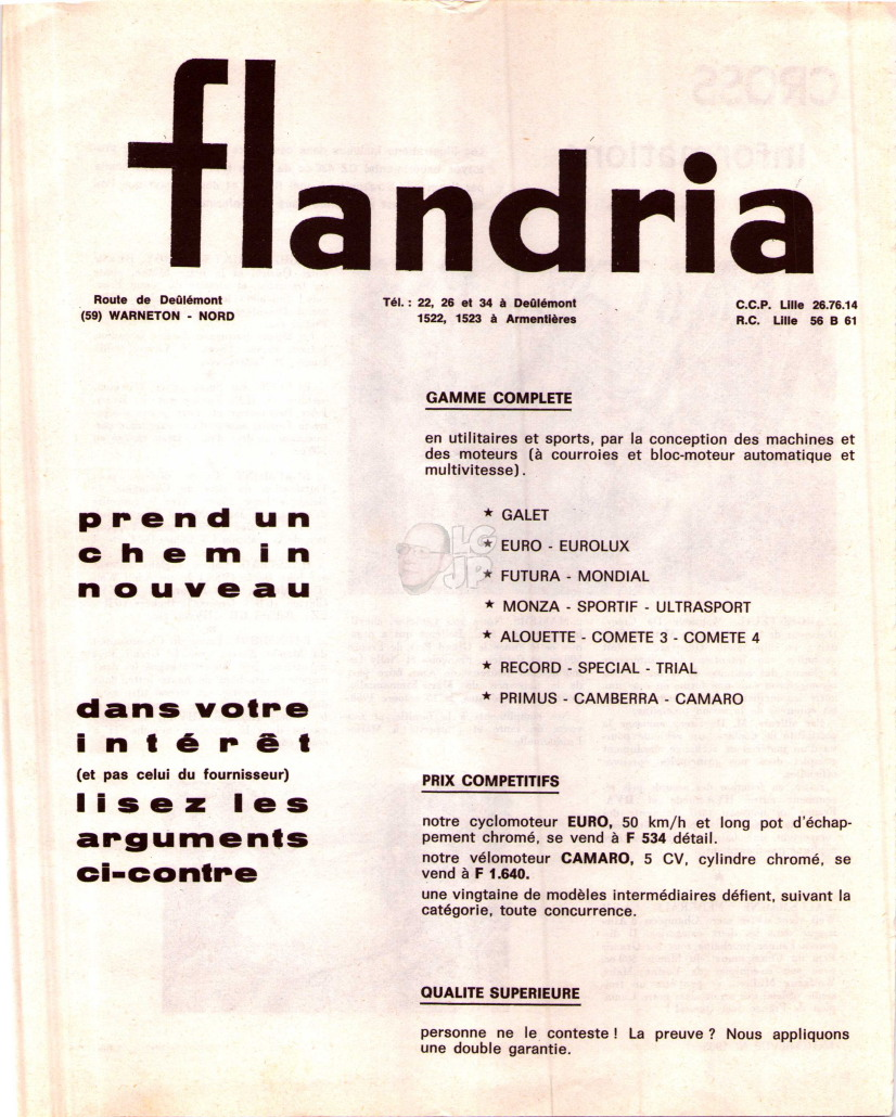 Qui connaît Flandria Alouette ? Flandr25