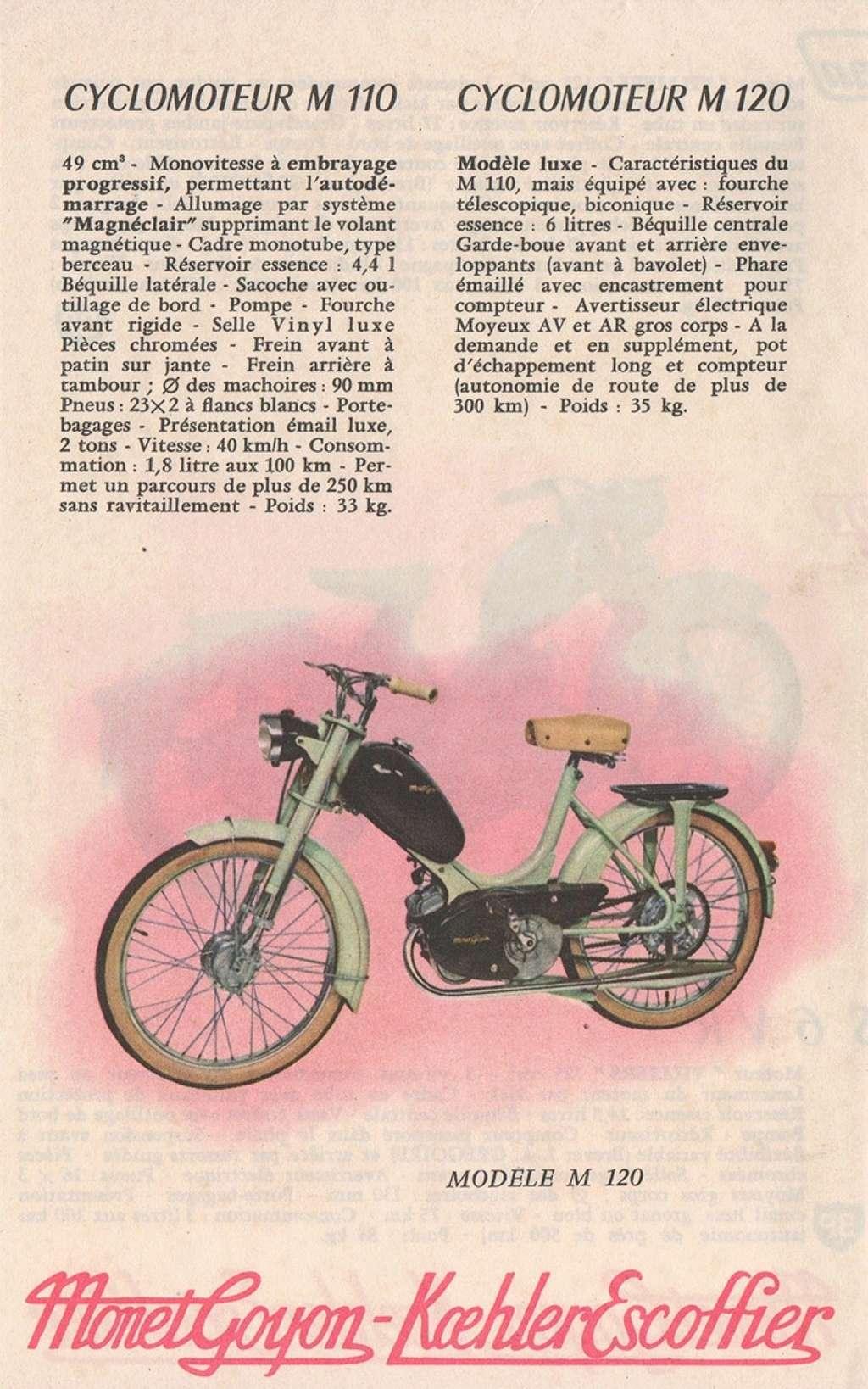 Identification Monet Goyon à moteur Lavalette  M11010