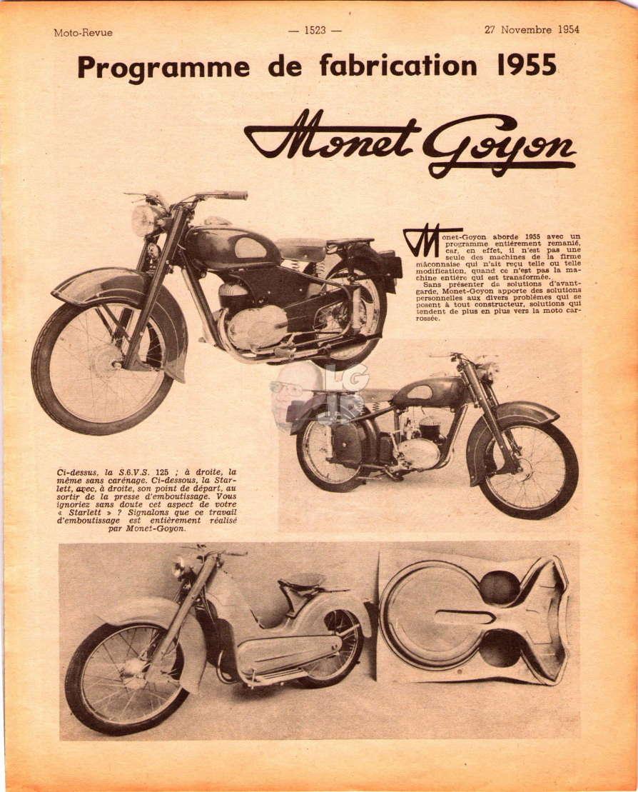 Identification Monet Goyon à moteur Lavalette  Mr121410