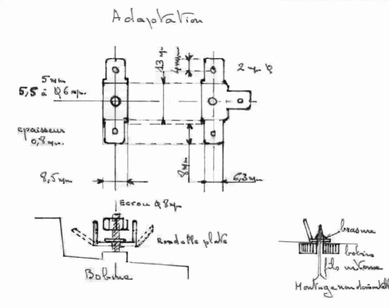 Electricité  schéma en 6V  le calvaire  Adapta10