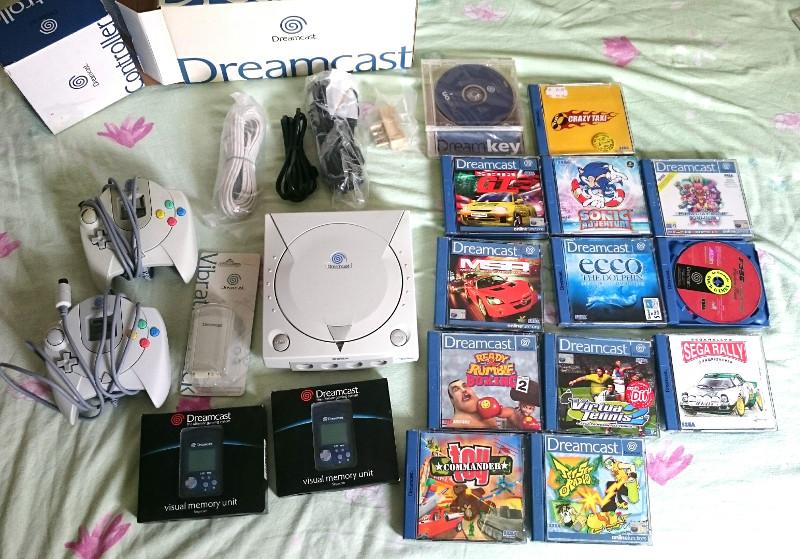 [VDS] Lot Dreamcast + jeux + accessoires _2017012