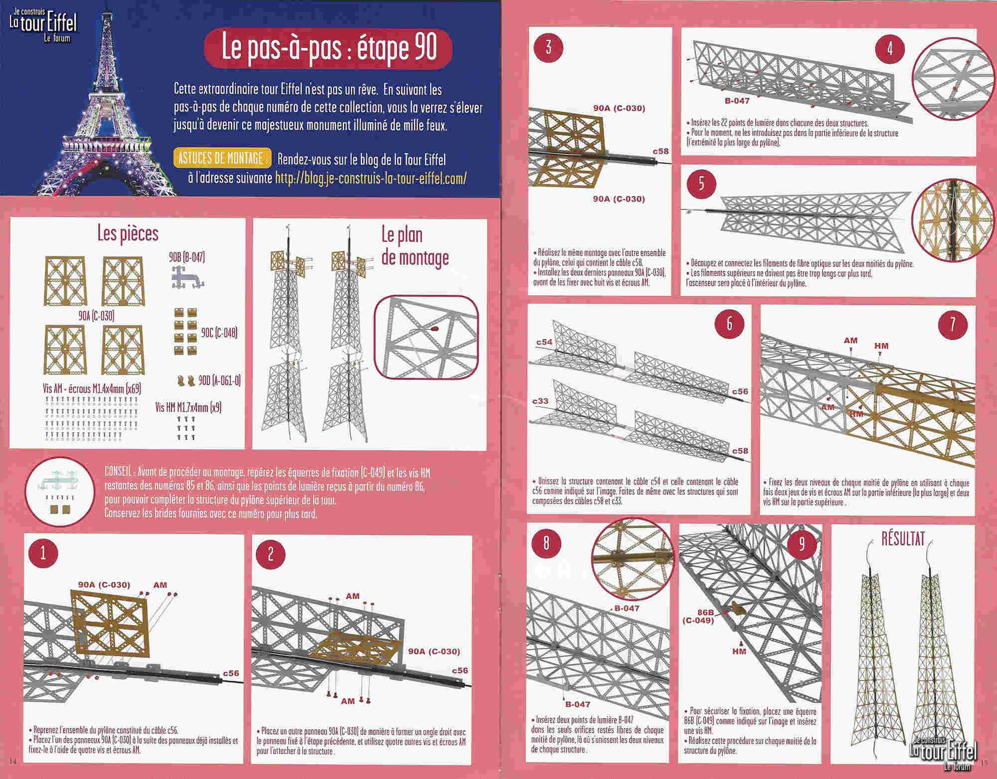 Numéro 90 - Je construis la Tour Eiffel - Le Centre des arts de Melbourne 090p13