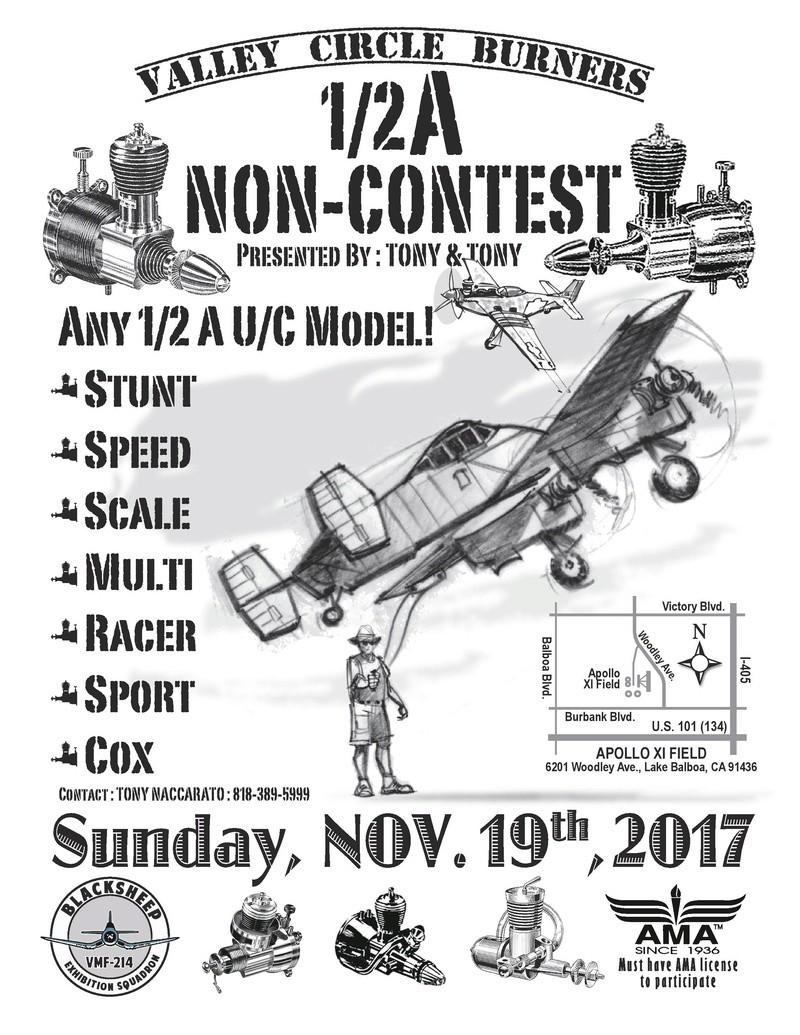 1/2A Non-Contest Control Line Gathering Non-co10
