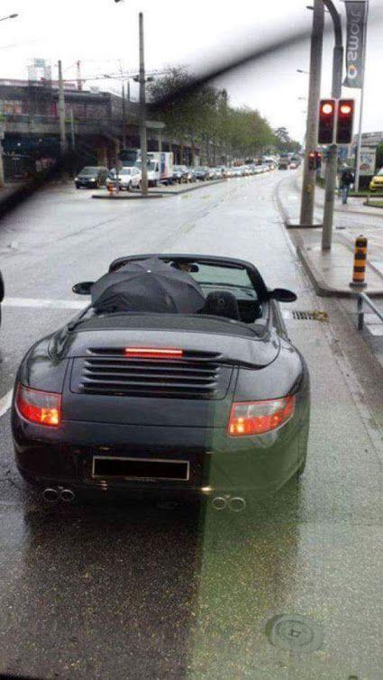 Porsche drôle/insolite 8a647b10