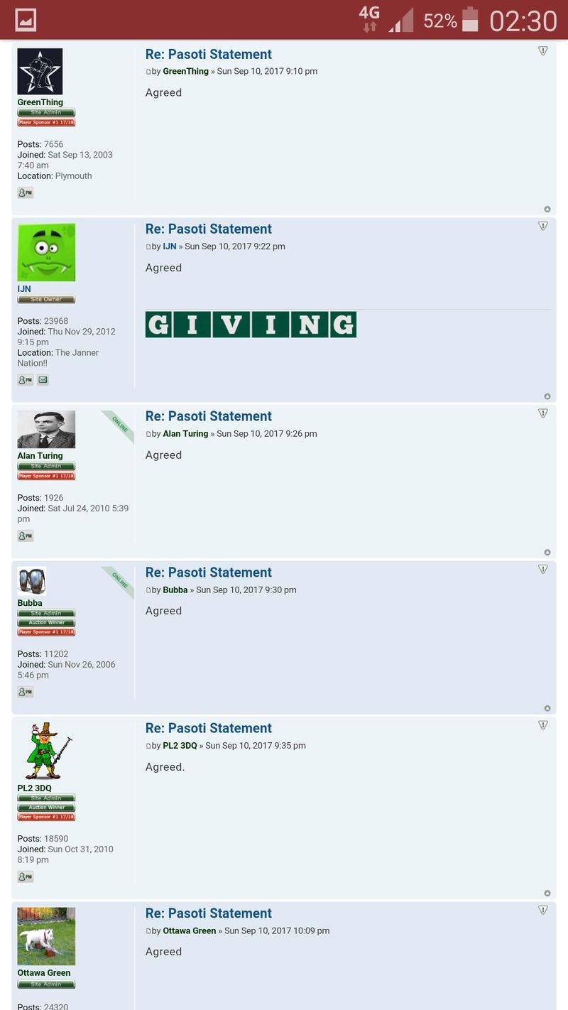 Pasoti Statement... Screen11