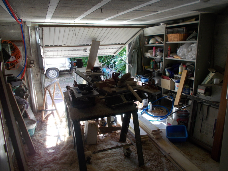 Mon/mes atelier et diverses réalisations (affutage foret au drill doctor) - Page 2 Dscn1413