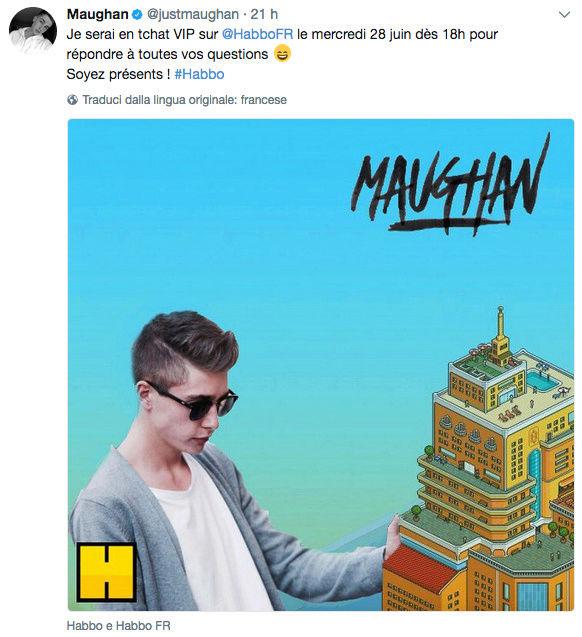 [FR] Maughan, Youtuber francese, in visita su Habbo Scherm10