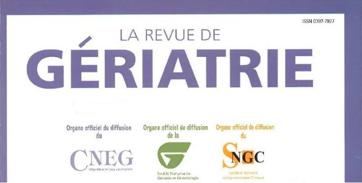 La Revue De Gériatrie, Tome 42, N° 7 septembre2017 Sans_t10