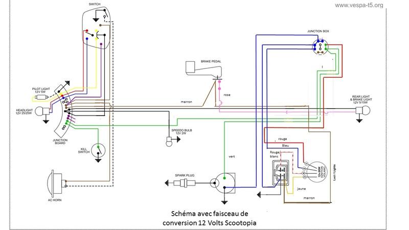 Lambretta SX200 replica project - Page 3 Schema11