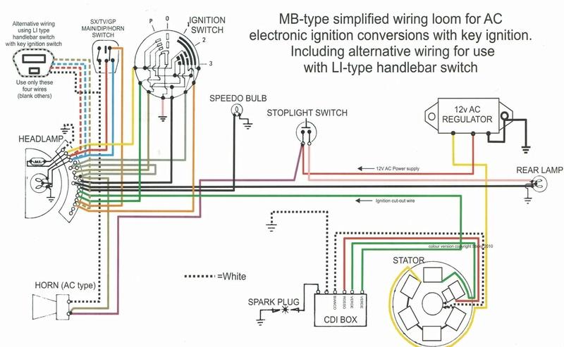 Lambretta SX200 replica project - Page 3 Schema12