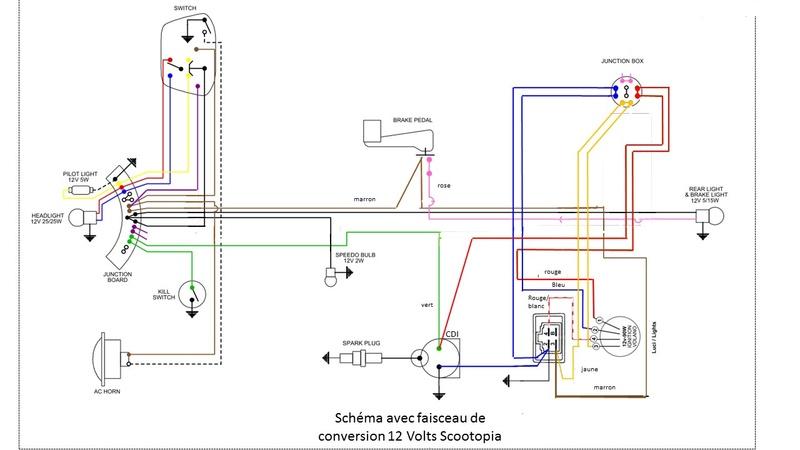 Lambretta SX200 replica project - Page 3 Schema13