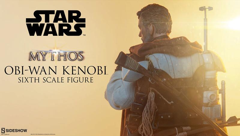 Figurine Obi-Wan Kenobi au 1:6 - Sideshow 220