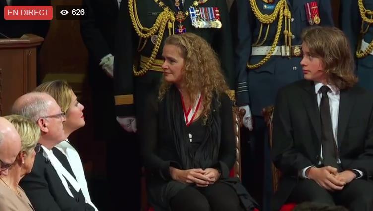 Julie Payette nommée gouverneur(e)-général(e) du Canada Scree167