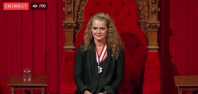 Julie Payette nommée gouverneur(e)-général(e) du Canada Scree168