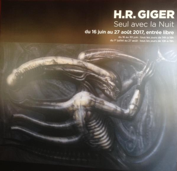Expo sur H.R. Giger au Lieu Unique - Nantes Screen26