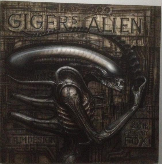 Expo sur H.R. Giger au Lieu Unique - Nantes Screen38