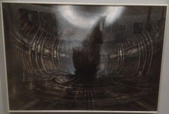 Expo sur H.R. Giger au Lieu Unique - Nantes Screen39