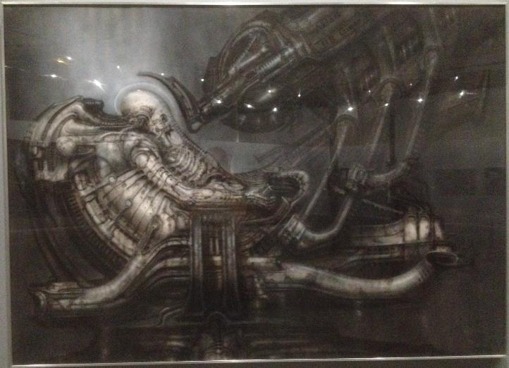 Expo sur H.R. Giger au Lieu Unique - Nantes Screen40