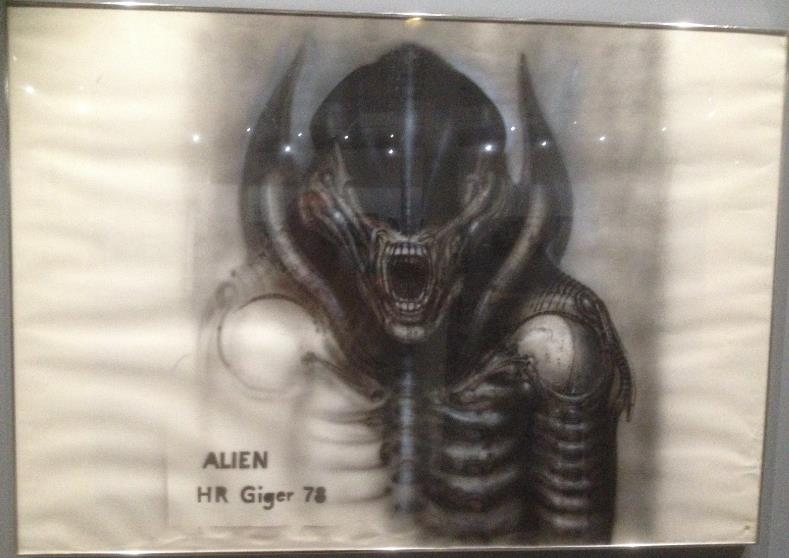 Expo sur H.R. Giger au Lieu Unique - Nantes Screen41