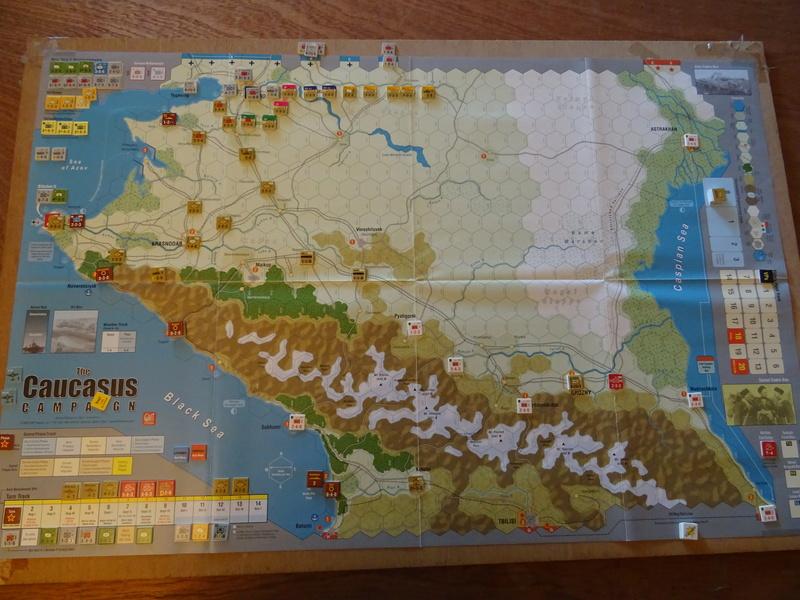 [CR] The Caucasus Campaign (GMT Games) : Drang Nacht Caucasus ! Dsc01810