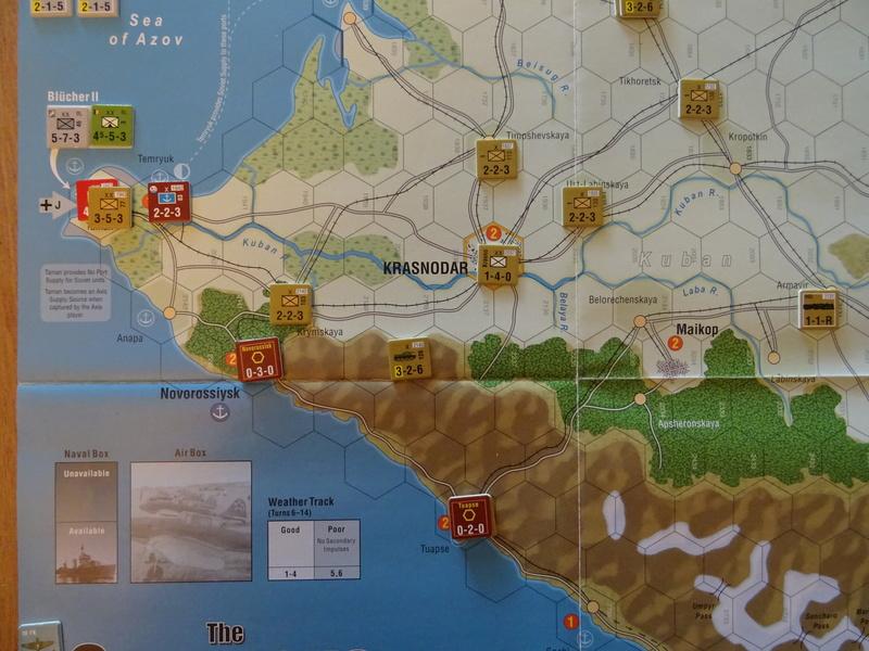 [CR] The Caucasus Campaign (GMT Games) : Drang Nacht Caucasus ! Dsc01812