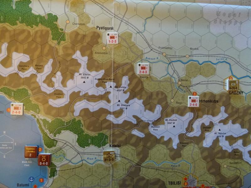 [CR] The Caucasus Campaign (GMT Games) : Drang Nacht Caucasus ! Dsc01813
