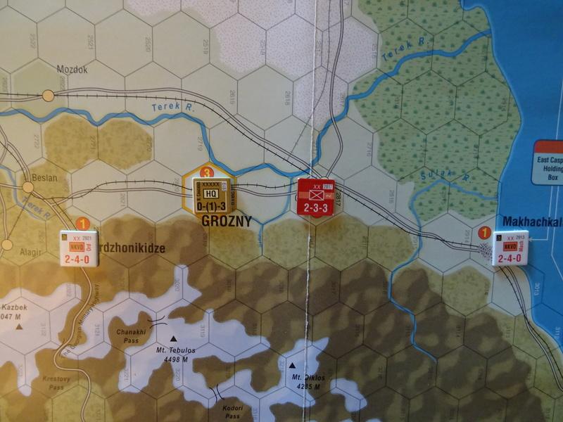 [CR] The Caucasus Campaign (GMT Games) : Drang Nacht Caucasus ! Dsc01814
