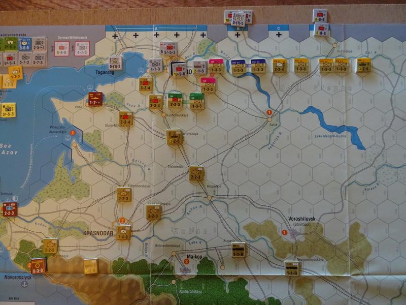 [CR] The Caucasus Campaign (GMT Games) : Drang Nacht Caucasus ! Dsc01816