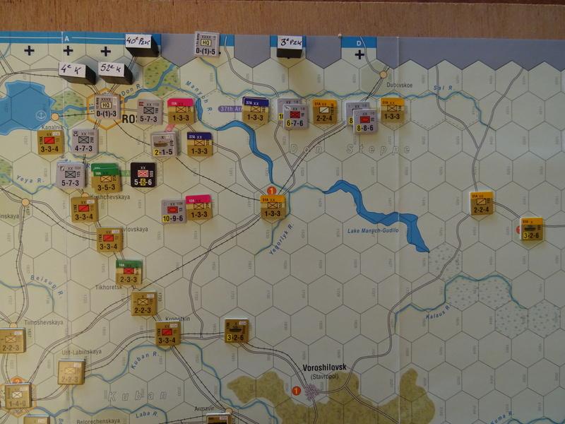 [CR] The Caucasus Campaign (GMT Games) : Drang Nacht Caucasus ! Dsc01819